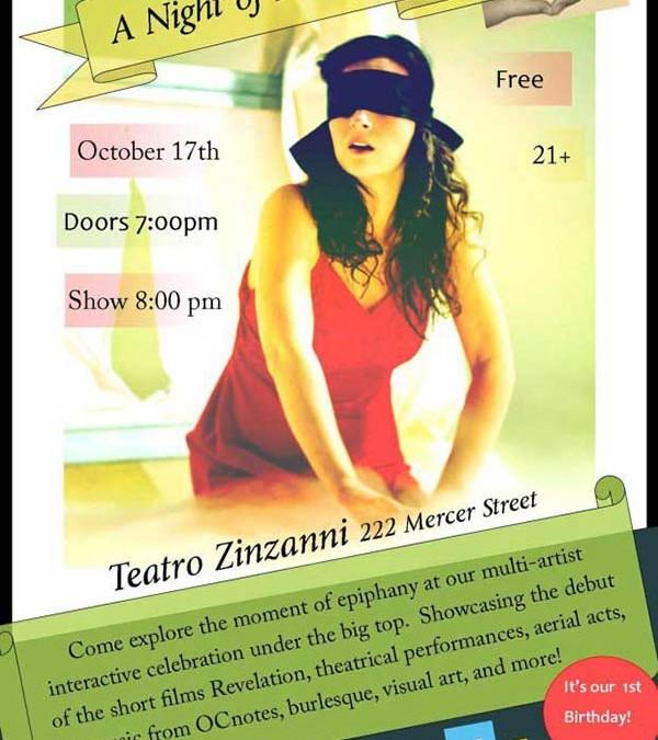 Revelation at Teatro Zinzanni